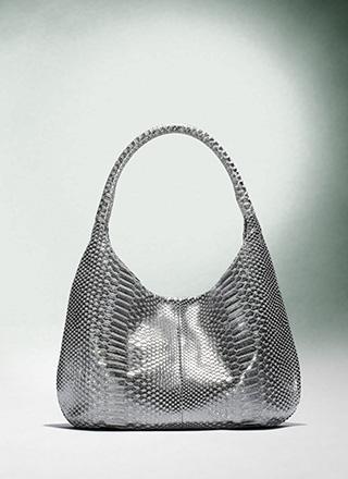 DK_SS09_MediumHobo_MetallicPython_silver